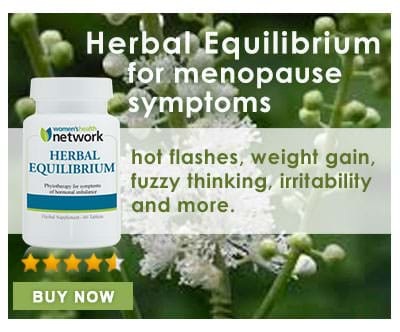 Herbal Equilibrium for menopause symptoms