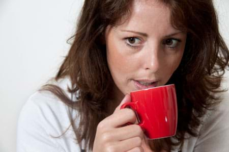 a woman who relies on caffeine to stay alert may develop adrenal fatigue