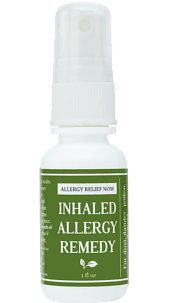 Inhaled Allergy Remedy