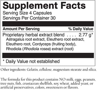 Adaptisol Ingredients